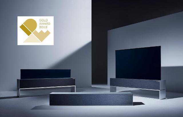 LG전자 롤러블 TV IDEA 2019서 최고 디자인상