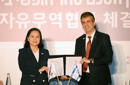 .韩国和以色列自贸协定谈判达成一致 高科技领域贸易有望全面扩大.