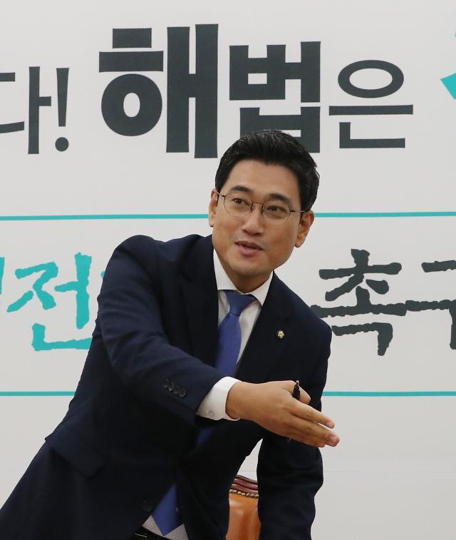 """원내대표 취임 100일...오신환 """"손학규, 살신성인 자세로 용퇴 결단하시라"""""""