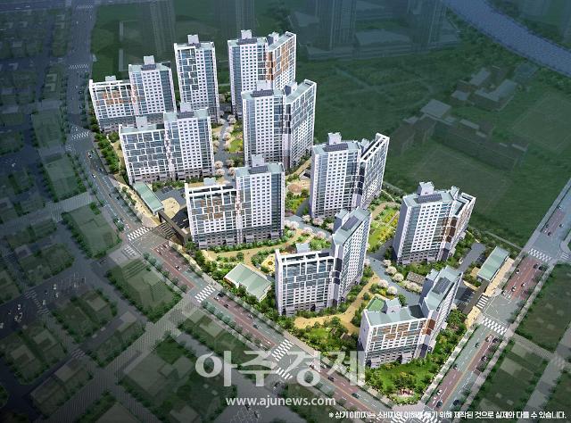 호반산업, '호반써밋 고덕신도시' 658가구 공급…이달 23일 견본주택 오픈