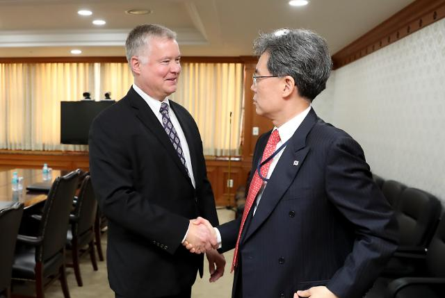 青瓦台安保次长:朝美无核化谈判近期有望重启