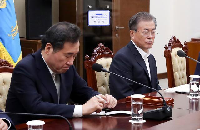 """文대통령, 지소미아 종료 재가…靑 """"국익 부합하지 않아"""" 설명"""