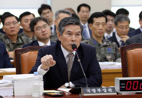 [靑 지소미아 종료] 軍 내부 당혹 착잡... 정경두 국방, 미군에 해명 부담