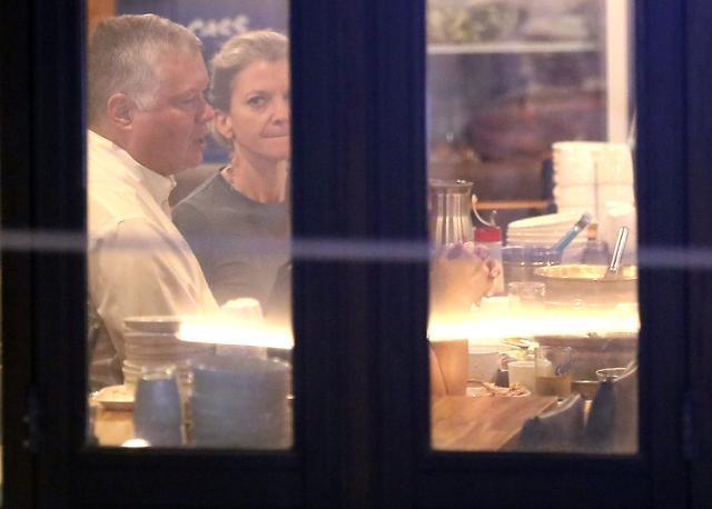 [포토] 광화문 식당서 식사하는 비건