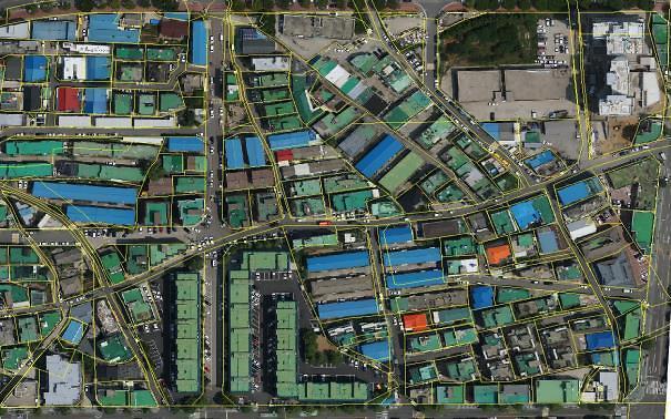 인천시,동경기준 종이지적도를 세계표준 디지털지적으로 변경 중