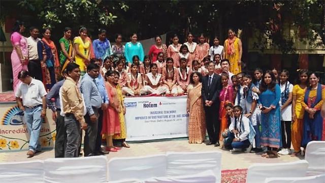 현대로템, 인도 델리 학교 교육환경 개선 지원