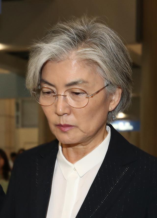 """강경화 """"한국은 화나있다…日태도 매우 일방적이고 자의적"""""""