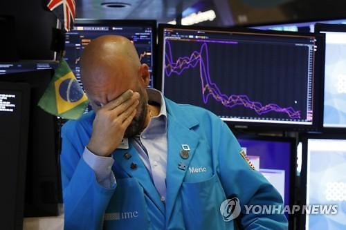 [글로벌 증시]미중 무역전쟁 공포가 집어삼킨 시장...다우지수 2.37% 급락