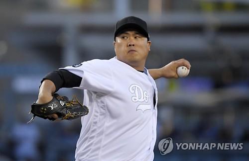 '아, 4패째' 류현진, 1점대 방어율 붕괴…사이영상 경쟁 '치명타'