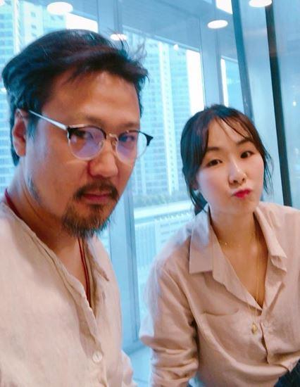 """[슬라이드 #SNS★] 정형석♥ 성우 박지윤 럽스타그램 """"오빠가 즐겁다니 다행"""""""