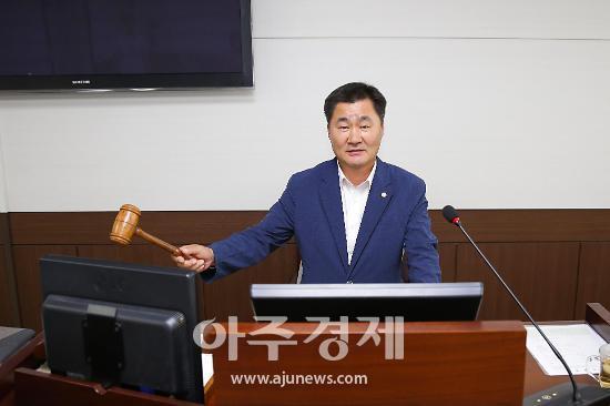 안산시의회,  제256회 임시회 예결위원장 유재수 의원 '선출'