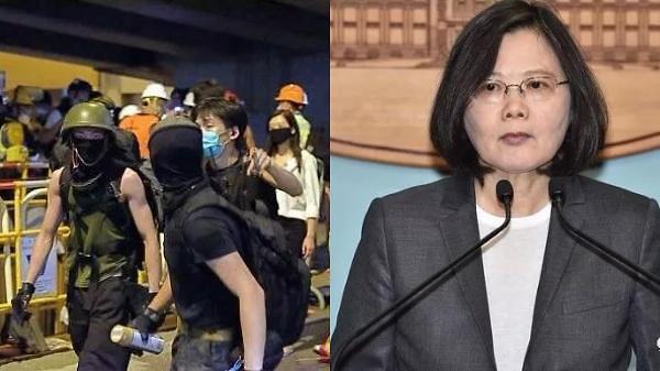 """中, 홍콩 시위세력 대만행에 긴장…""""폭도가 치안·경제 망칠 것"""""""