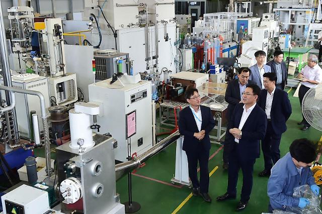 인천시,일본 수출규제에 기술력으로 대응하는 기업 방문