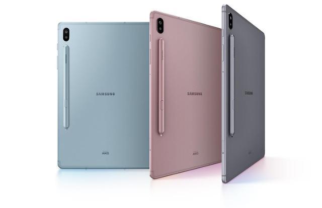 三星平板电脑盖乐世Tab S6明日在韩开售