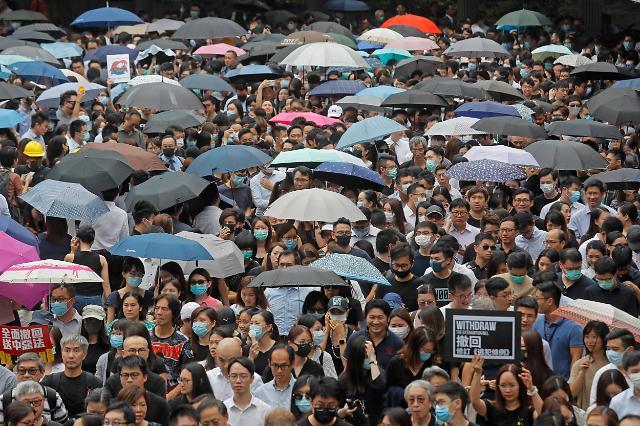 朝媒谴责西方势力插手中国内政支持香港示威