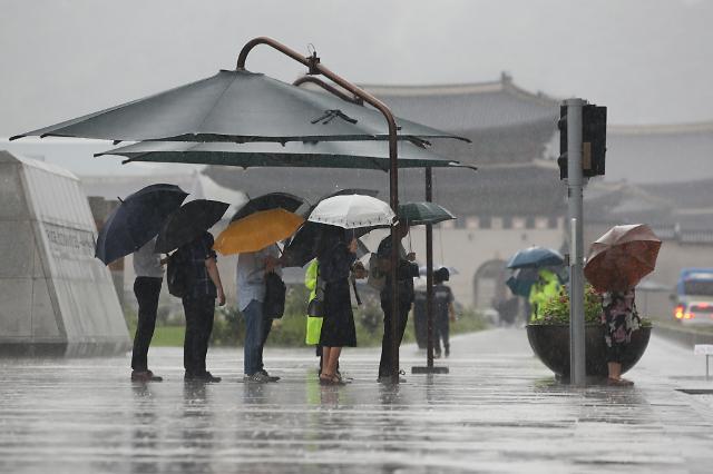 """[내일 날씨] """"우산 챙겨 출근하세요""""…전국 비소식"""