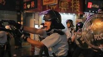 캐리 람, 계엄 카드 만지작...주말 집회 '홍콩 사태' 분수령