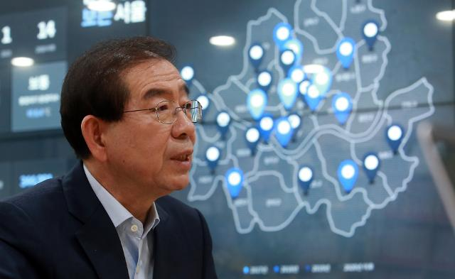 박원순 시장, 중국 선전 블루스카이상 수상