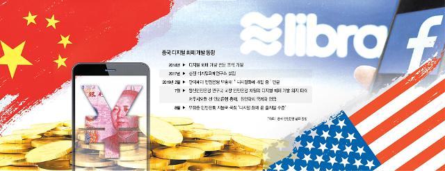 글로벌 디지털 화폐 패권 전쟁 불 댕기는 中