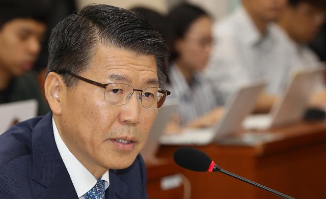 '한국당 퇴장'에 은성수 금융위원장 후보자 청문회 중단