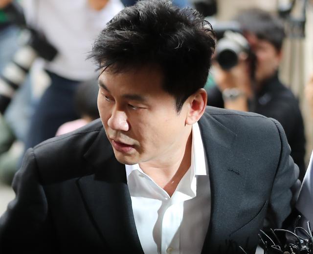 [포토] 양현석 전 YG 대표 경찰 출석
