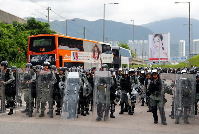 中언론 홍콩 학생들, 시위참여 아닌 애국정신 배워야