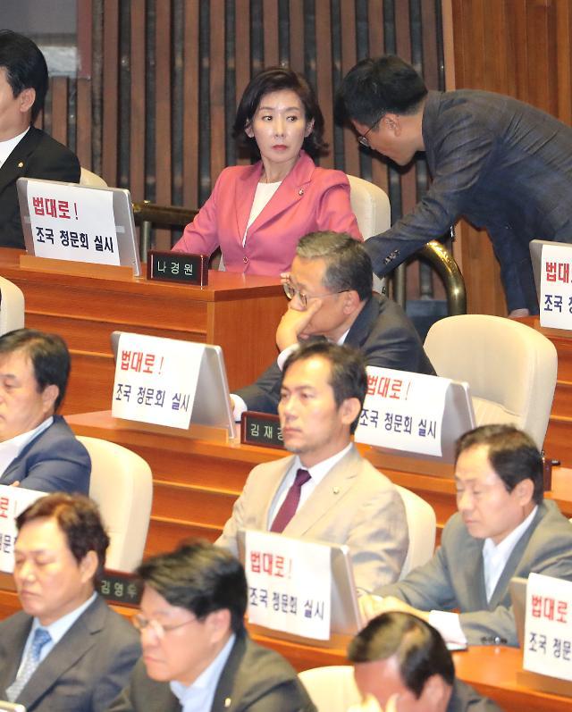 조국外 6인 청문회 수순 마무리…이정옥·한상혁은 난항 여전