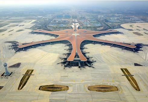[중국포토]베이징 다싱국제공항, 9월말 개항...동북아허브 노린다