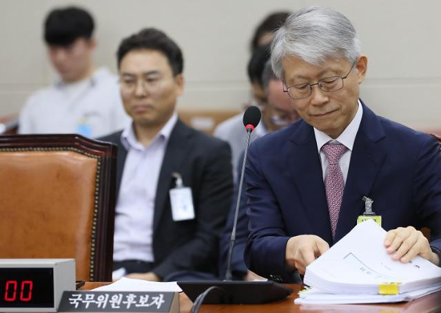 """최기영 후보자 """"일본 따라잡는다""""… 야당은 조국 우회공격 집중"""
