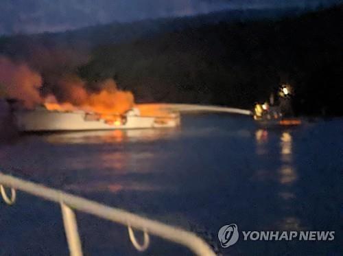 美 서부해안서 대형참사…선박 침몰로 34명 사망·실종