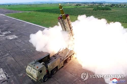 """""""北미사일 발사, 무기 개발 진전 신호...주한 미군 위협"""""""