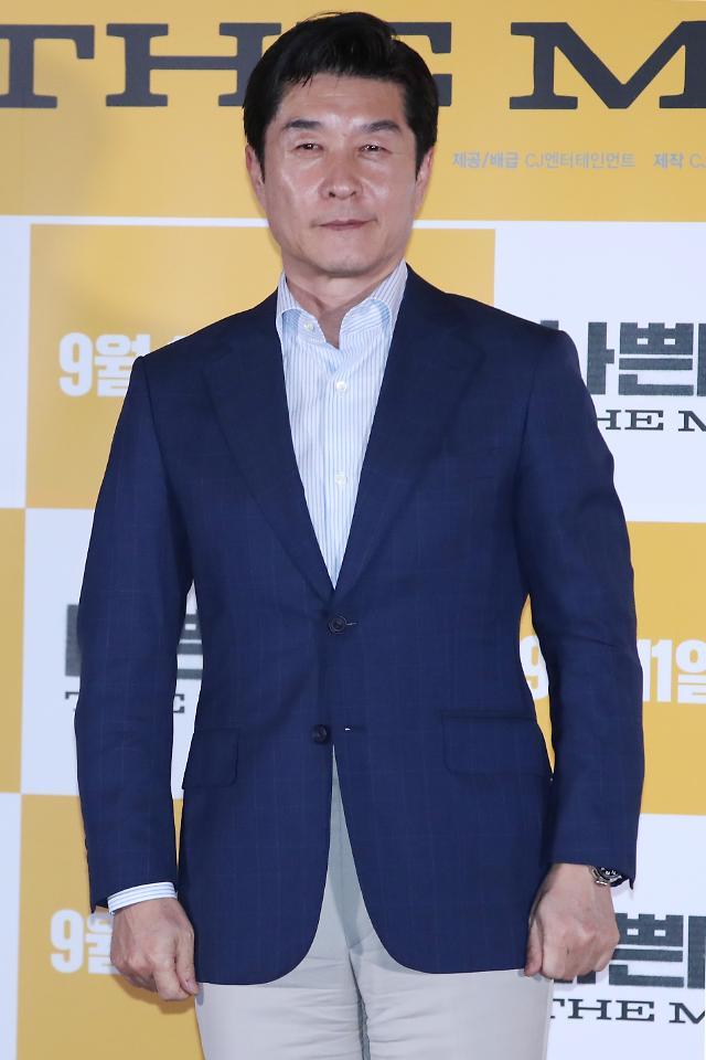 """나쁜 녀석들 김상중 """"오구탁役, 두 번째 연기…액션 업그레이드"""""""