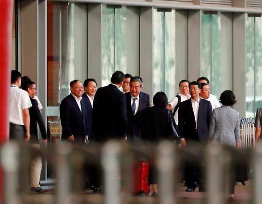 中国外长王毅结束访朝回京 未与金正恩见面