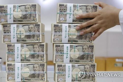 [아시아환율]미중 긴장 완화·美 양호한 지표에 엔화 하락