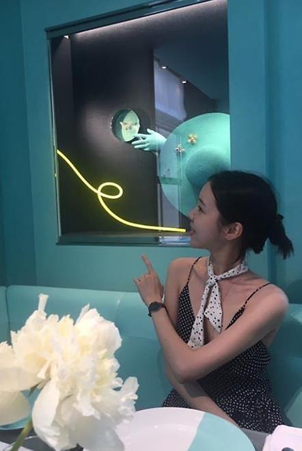 영화 '도어락' 김예원의 놀라운 황금 기럭지 '매끈하네'