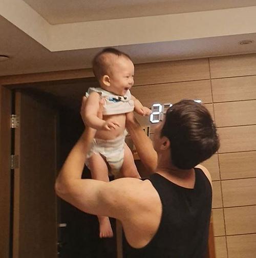 조현재♥박민정, 아들 보니