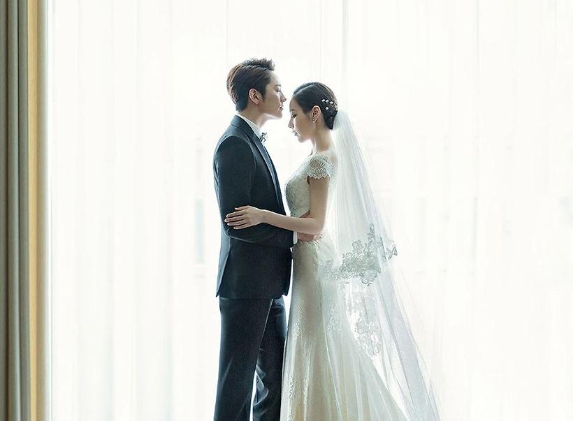 간미연, 황바울과 결혼설에 2015년 웨딩화보가 웨딩사진으로