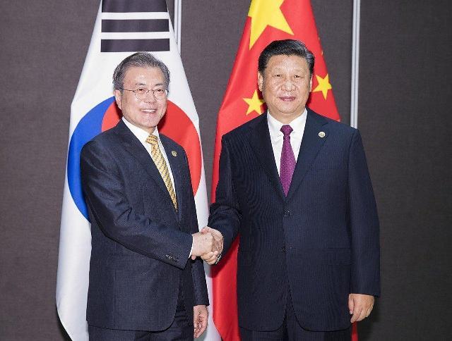 韩高官:韩中就习近平年内访韩继续磋商