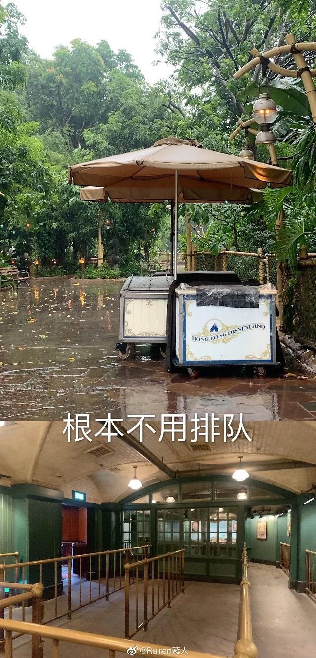 [글로벌포토] 썰렁한 홍콩 디즈니랜드