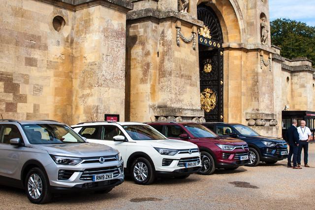 쌍용차, 코란도 유럽 현지 판매 돌입…'수출 회복' 이끈다