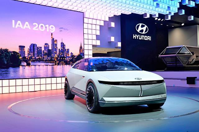 [2019 프랑크푸르트 모터쇼] 현대차, EV 콘셉트카 '45' 공개…맞춤형 고객 경험 토대