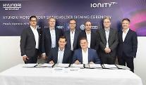 現代・起亜車、EV超高速充電会社「アイオニティ」に戦略投資