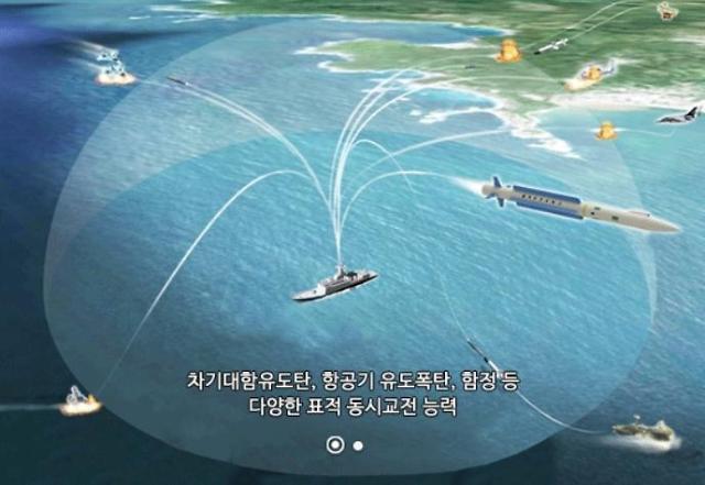 S. Korea endorses mass-production of Haegung intercept missiles for warships