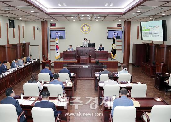 광명시의회, 제248회 임시회 폐회