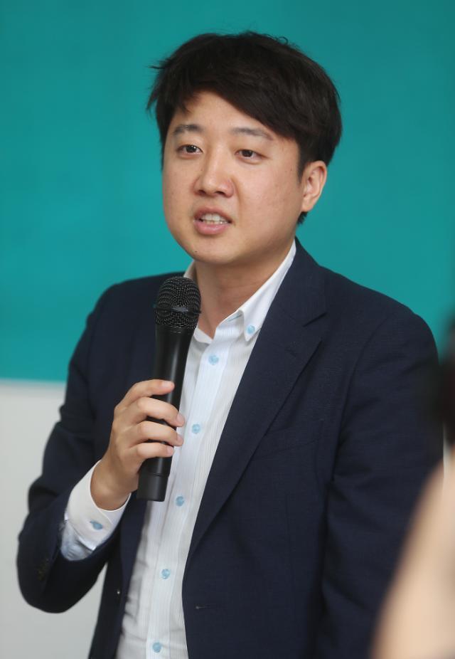 """이준석 """"나경원 아들, 진짜 수학 전교 1등···조국은 딸은 가짜뉴스"""""""