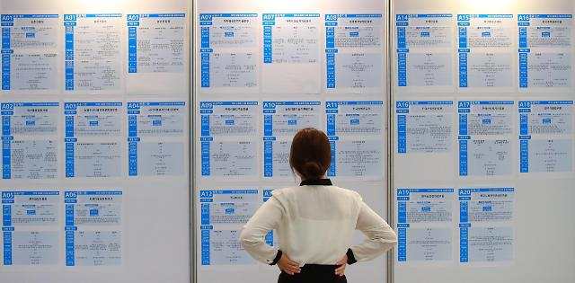 韩8月就业人口同比增45.2万人 失业率3%