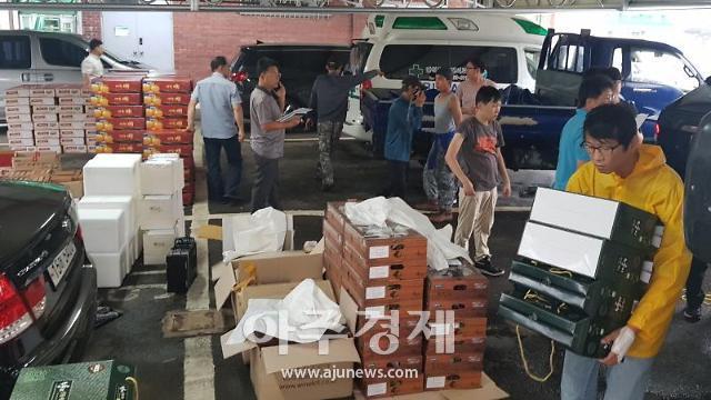 연천군공무원노조 지역농산물 구매로 농가소득기여