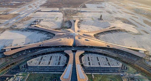 베이징의 새로운 교통허브 다싱 신공항 '이모저모'