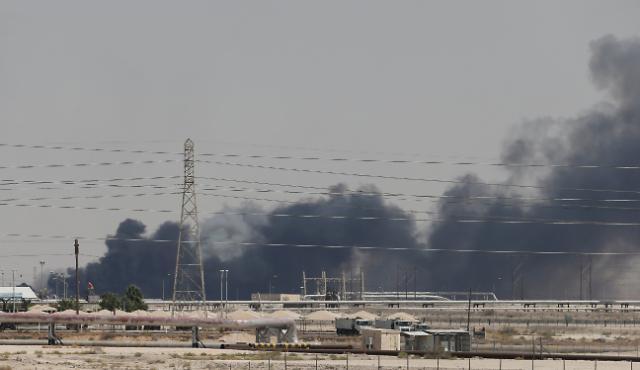 [포토] 사우디 아람코 석유시설 드론 공격