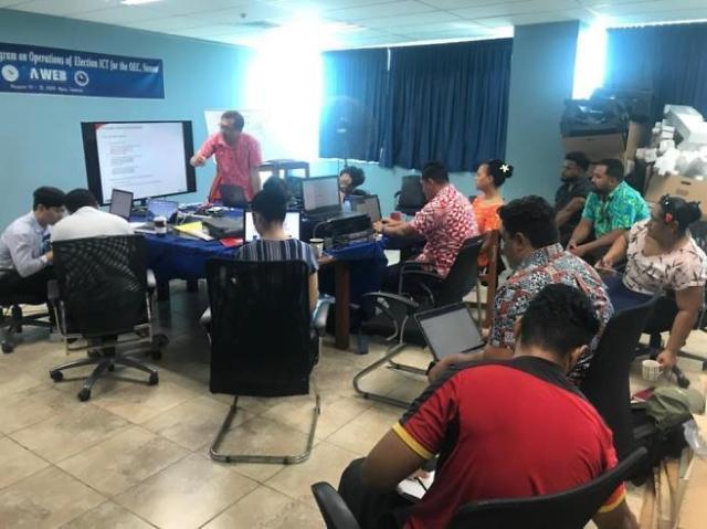 A-WEB, 사모아 선거 ICT 역량강화 연수 성공리에 개최